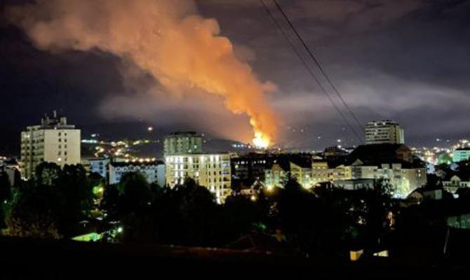 В Сербии взорвались артиллерийские склады оружейной фабрики