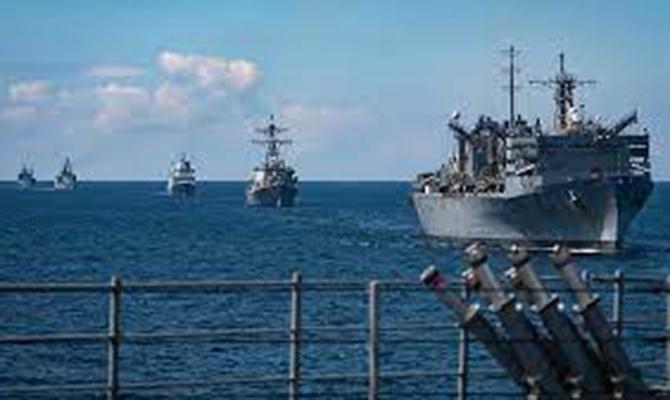 НАТО проводит масштабные учения в Балтийском море