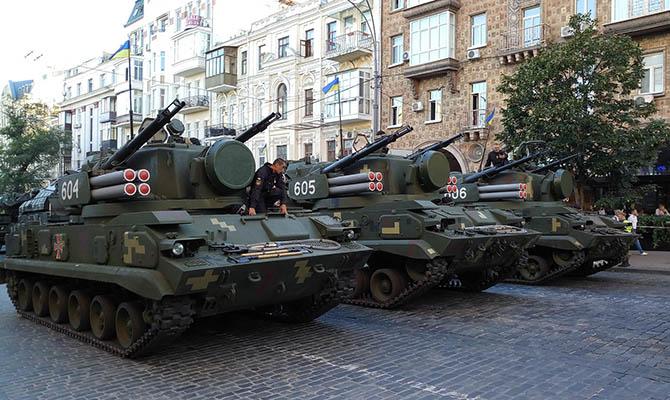 США призвали Украину разграничить законом обязанности Минобороны и ВСУ
