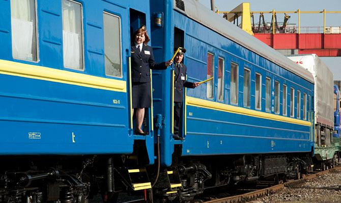 «Укрзализныця» назвала самые популярные поезда в Украине