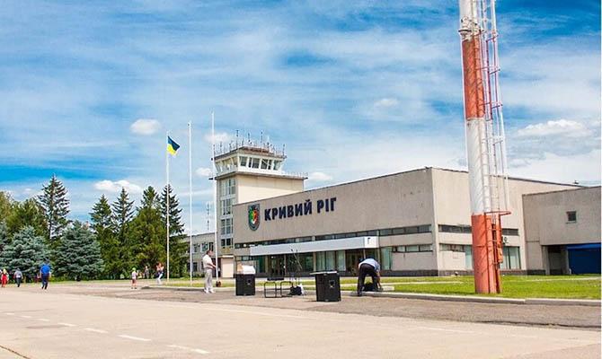 Аэропорт в Кривом Роге планируют восстановить к концу 2022 года