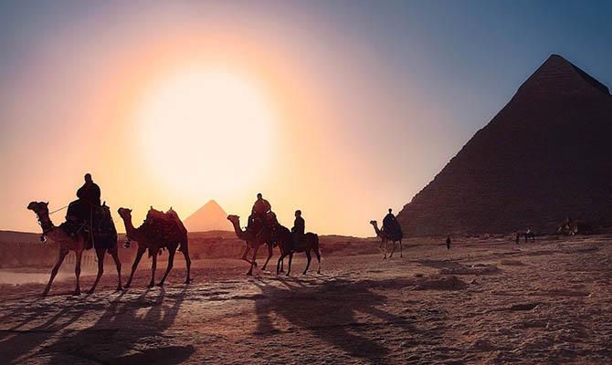Египет ожидает в этом году 1,5 млн туристов из Украины