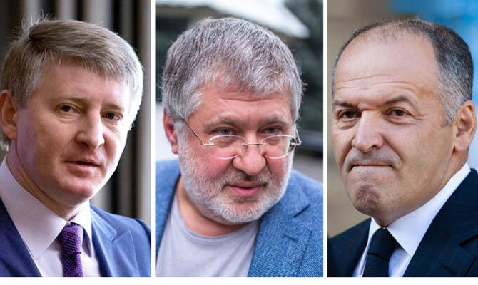 Заслужили санкции и уголовные дела: Ахметов, Яценюк и Коломойский финансируют ЛДНР через сотрудничество с РФ, - СМИ