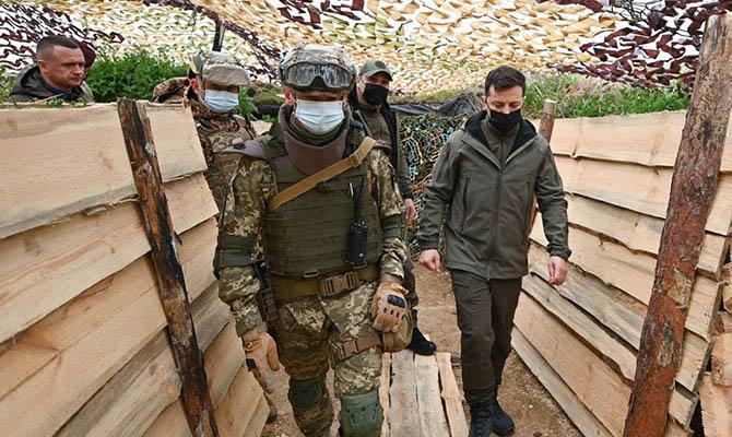 Зеленский рассказал, зачем ездит на Донбасс