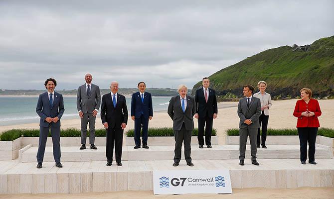 Страны G7 упомянули в финальном коммюнике «злонамеренные действия» РФ