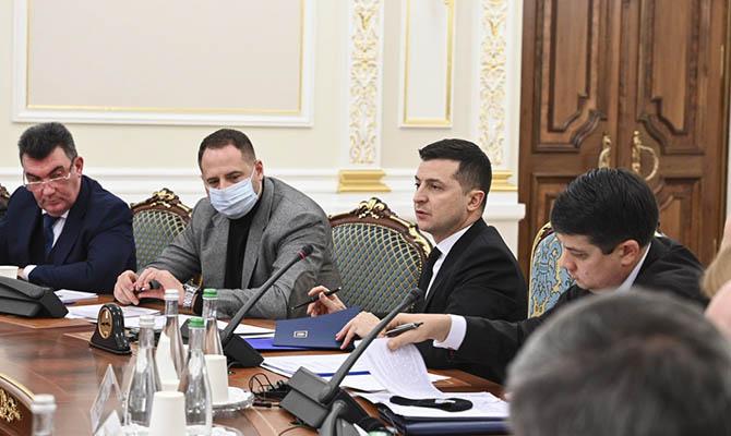 СНБО Украины соберется в эту среду