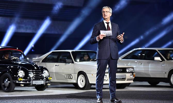 В Audi назвали сроки отказа от производства автомобилей с ДВС