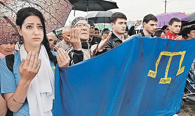 В Украине сегодня отмечают День крымскотатарского флага