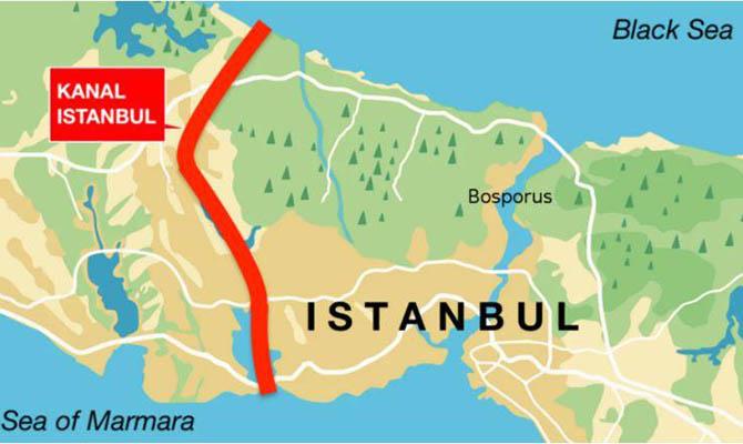 Эрдоган озвучил стоимость и сроки завершения канала «Стамбул»