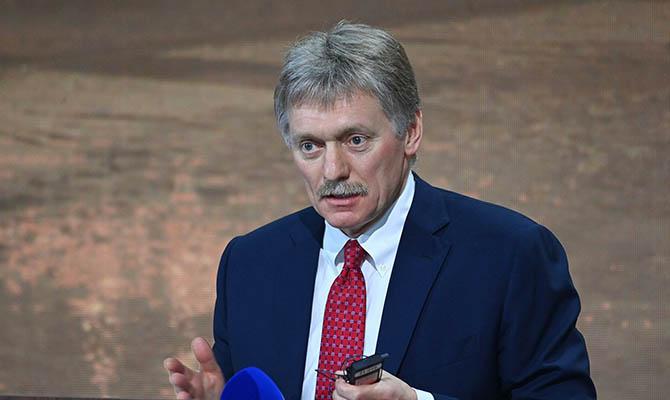 В Кремле ответили на слова Зеленского об украинском флаге над Госдумой