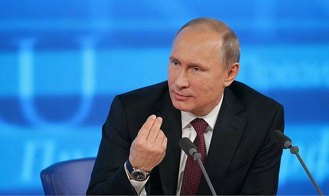 Владимир Путин назвал антиконституционным арест Медведчука