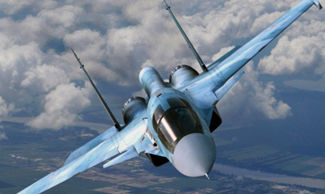 РФ устроила маневры авиации над Черным морем