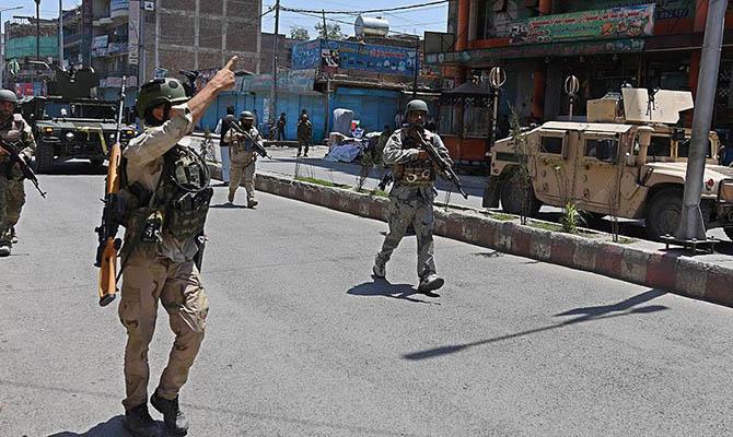 В Афганистане заявили, что отбили у талибов 14 районов