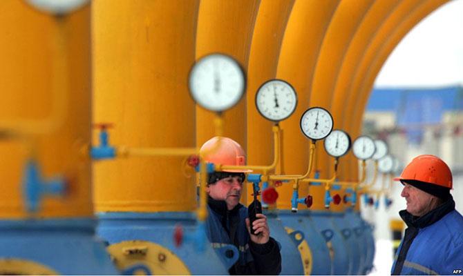 Транзит газа через Украину в первом полугодии снизился на 13%