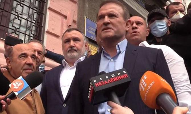 Медведчук: Власть использует обвинения в госизмене в качестве инструмента борьбы с инакомыслящими