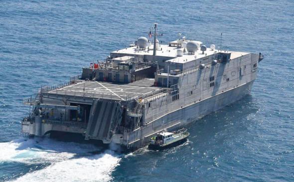 В Черное море направился американский десантно-транспортный корабль