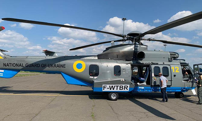 МВД получило пятый в этом году вертолет по контракту с Airbus Helicopters