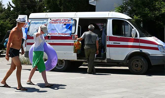 Крым установил новый антирекорд по заболеваемости коронавирусом