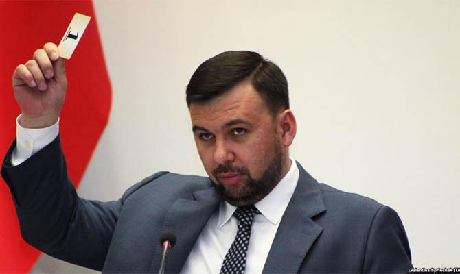 Глава донецких сепаратистов заявил о желании вступить в партию «Единая Россия»