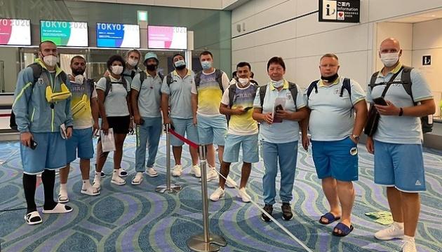 Украинские олимпийцы прибыли в Токио