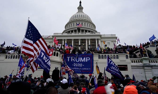 В США дали первый тюремный срок за штурм Капитолия