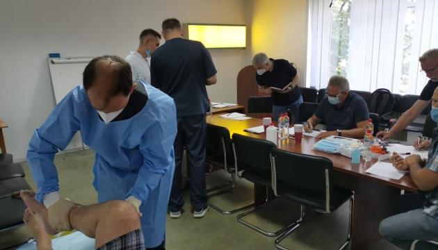 Раненые украинские военные поедут лечиться в Германию
