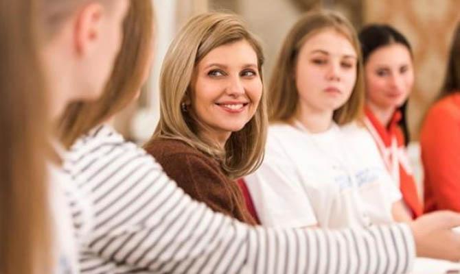 Украина решила организовать первый саммит жен и мужей глав государств