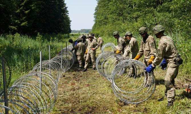 Украина отправит Литве колючую проволоку для защиты границы с Беларусью