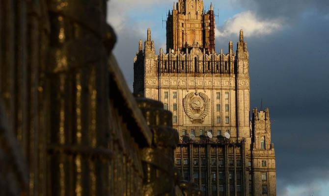 РФ прислала официальную ноту Украине из-за сноса памятника