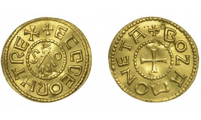 За золотую англо-саксонскую монету рассчитывают выручить 200 тысяч фунтов