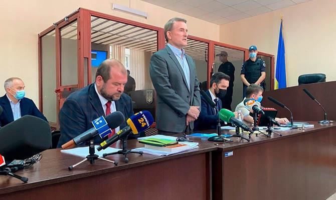 Медведчук на суде заявлял о полном отсутствии доказательств его вины