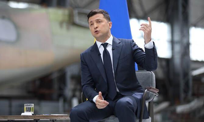 Зеленский назвал преждевременными разговоры о поставке из США системы ПРО «Железный купол»